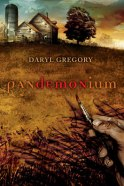 """Pandemonium"" book cover"